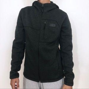 The North Face Men's Dark Gray Zippered Jacket